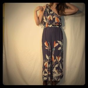 Free People One Shoulder Jumpsuit-Small